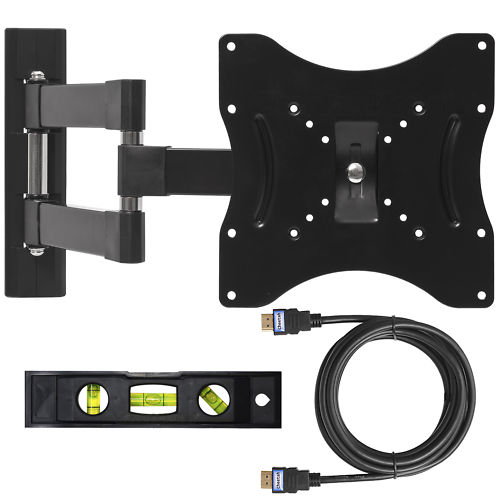 "1142-B Black VESA 14-37"" TV Wall Mount"