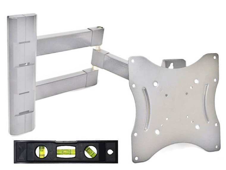 "1042-B Silver VESA 14-37"" TV Wall Mount"