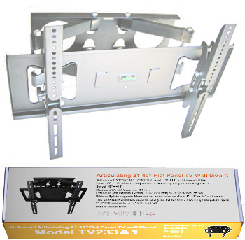 "TV233A-S Articulating 32""-55"" Flat Panel TV Wall Mount"